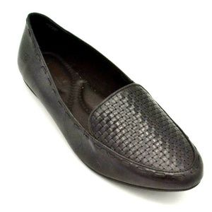Born Womens Maple Leather Loafer Size 9 New
